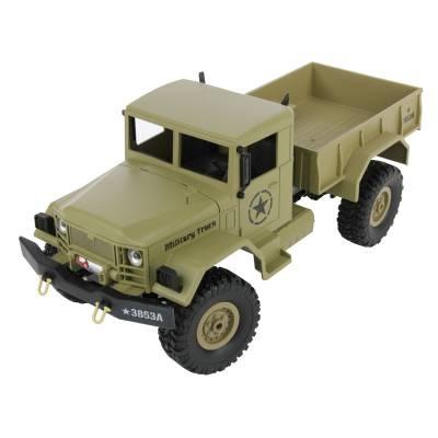 1:16 US MILITARY TRUCK 4X4 - 2.4 GHZ - RC Eksperten
