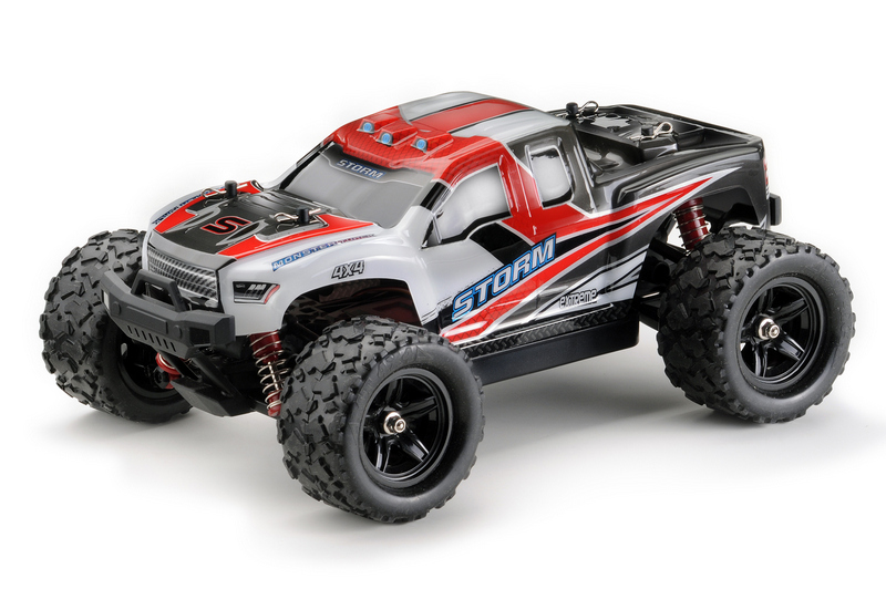 HURRYCANE RED 4WD RTR 1/18 ELECTRIC MONSTER TRUCK