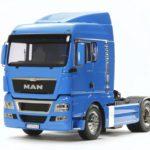 TAMIYA MAN TGX 18. 540 RC TRUCK FRENCH BLUE