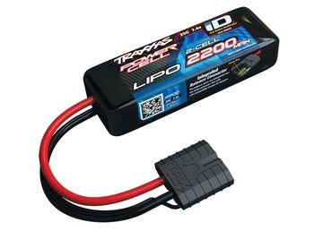 Traxxas Li-Po Batteri 2S 7,4V 2200mAh 25C iD-kontakt www.rceksperten.no