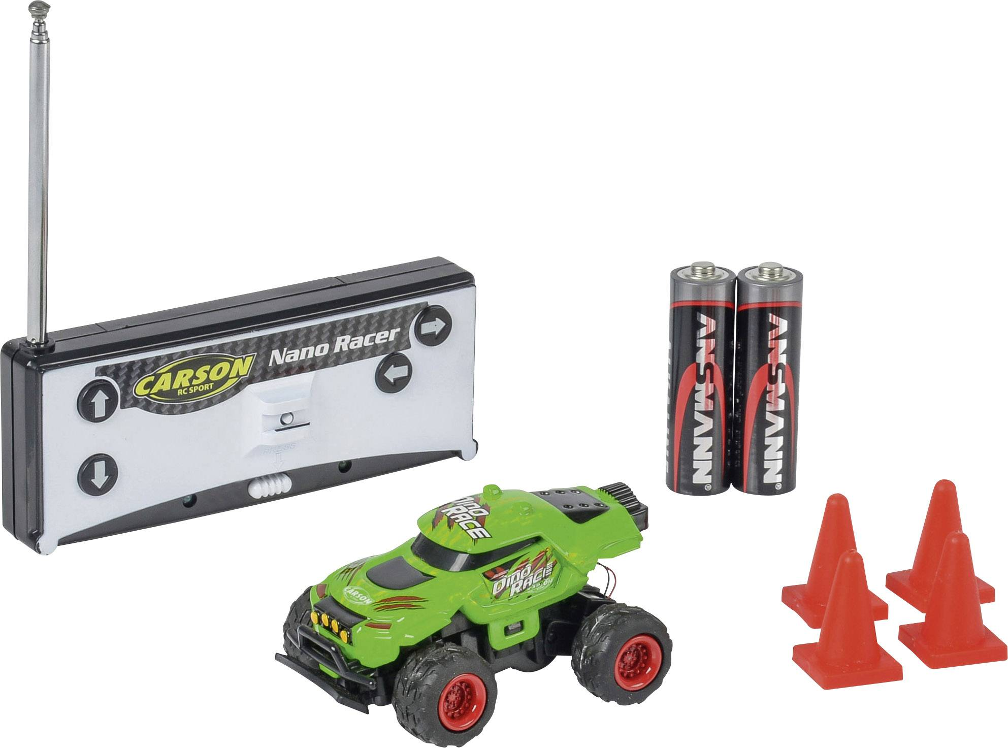 NANO RACER MONSTER TRUCK DISPLAY - RC Eksperten