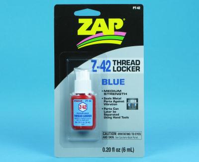 THREAD LOCKER Z-42 BLUE 0.2OZ PT42 - RC Eksperten
