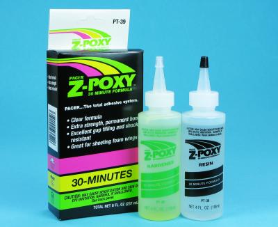Z-POXY 30 MIN 8 OZ PT39 - RC Eksperten