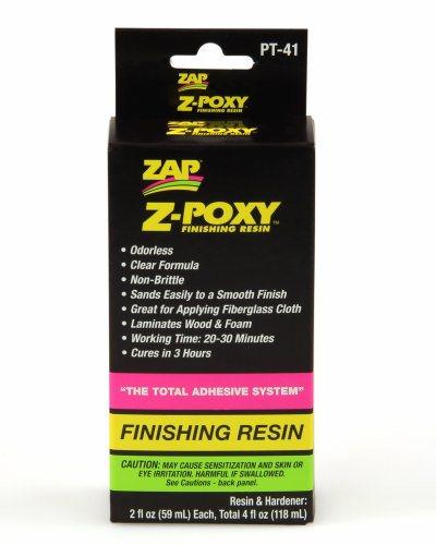 Z-POXY FINISHING RESIN 4oz PT41