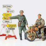 TAMIYA GERMAN MOTORCYCLE ORDERLY SET 1/35