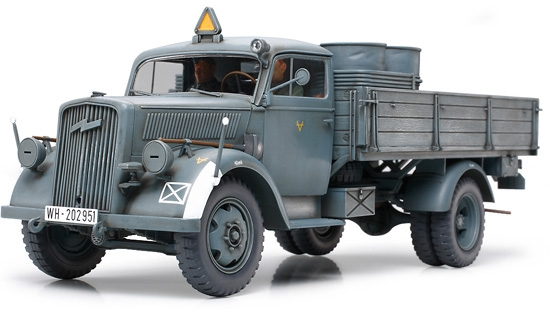 GERMAN 3 TON 4X2 CARGO TRUCK - 1/35 - RC Eksperten