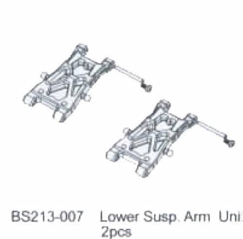 BSD LOWER SUSPENSION ARM UNIT - RC Eksperten
