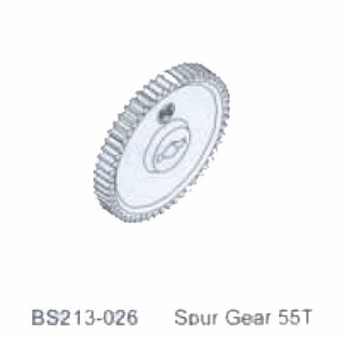 BSD SPUR GEAR 55T - RC Eksperten