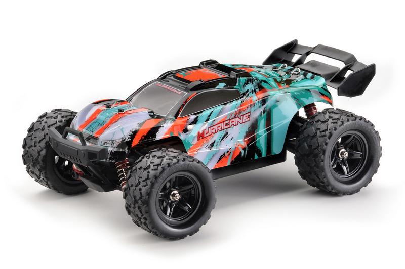 ABSIMA 4WD HIGH SPEED TRUGGY HURRICANE 2,4GHZ