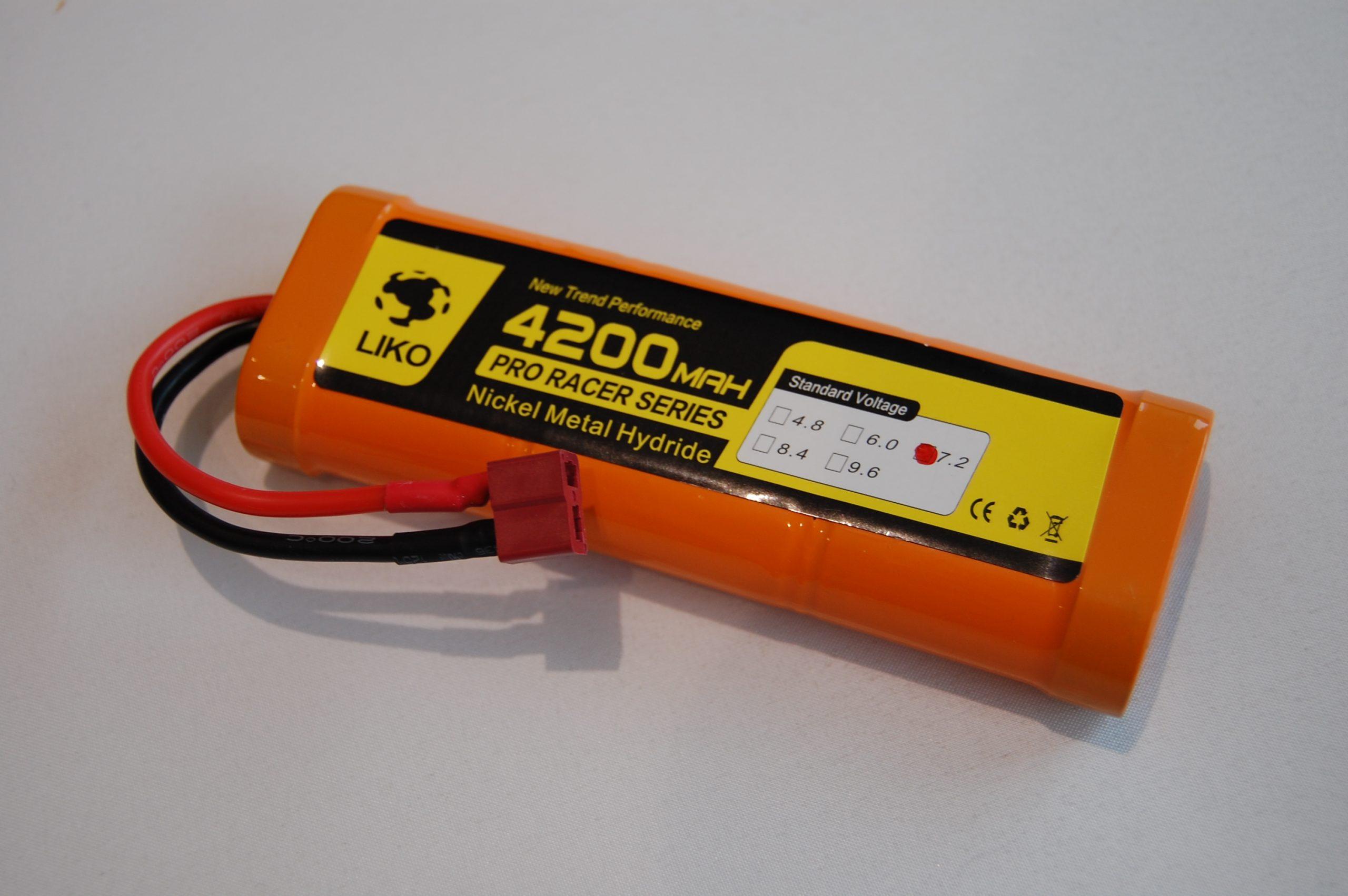 RACING PACK 4200mAh - 7.2v NiMh - DEANS - RC Eksperten