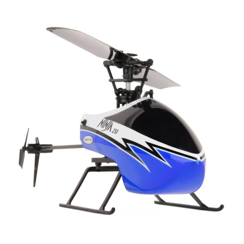 TWISTER NINJA 250 HELICOPTER – COPILOT ASS – 6AX GYRO BLUE