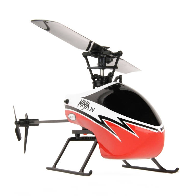 TWISTER NINJA 250 HELICOPTER – COPILOT ASS – 6AX GYRO RED