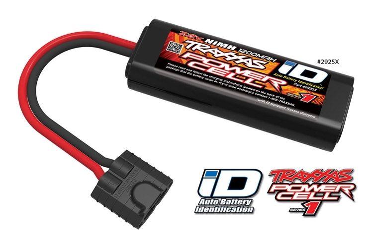 Traxxas NiMH Batteri 7,2V 1200mAh (2/3A) iD-kontakt