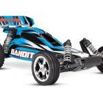 Bandit 2WD 1/10 RTR TQ Blå - Uten Batt/Lader - RC Eksperten