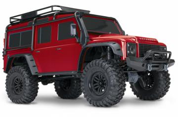 TRX-4 Scale & Trail Crawler Land Rover Defender Rød RTR