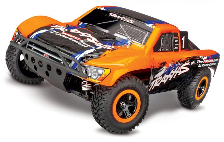 Traxxas Slash 4x4 VXL RTR TQi TSM Orange - Uten Batteri & Lader