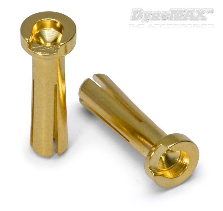 D-Max Kontakt Bullet 4mm Hann Bil 10stk - RC Eksperten