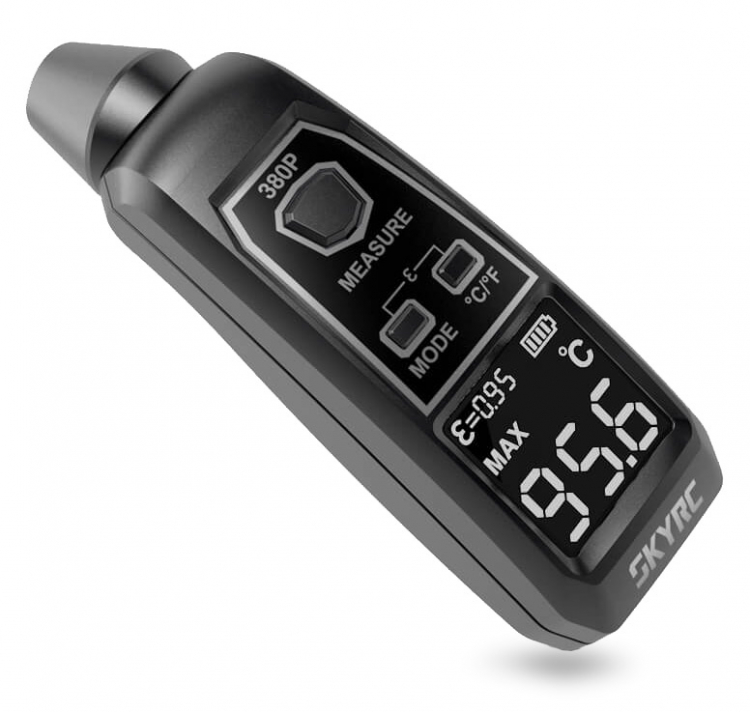 SkyRC 380P Temp Gun - Infrared Thermometer - RC Eksperten