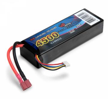 Vapex Li-Po Batteri 3S 11.1V 4500mAh 35C Hard T-kontakt