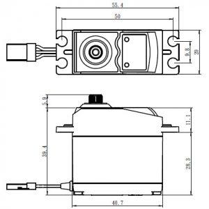 SAVÖX SC-0252MG - Metal-Geared Digital Standard Servo