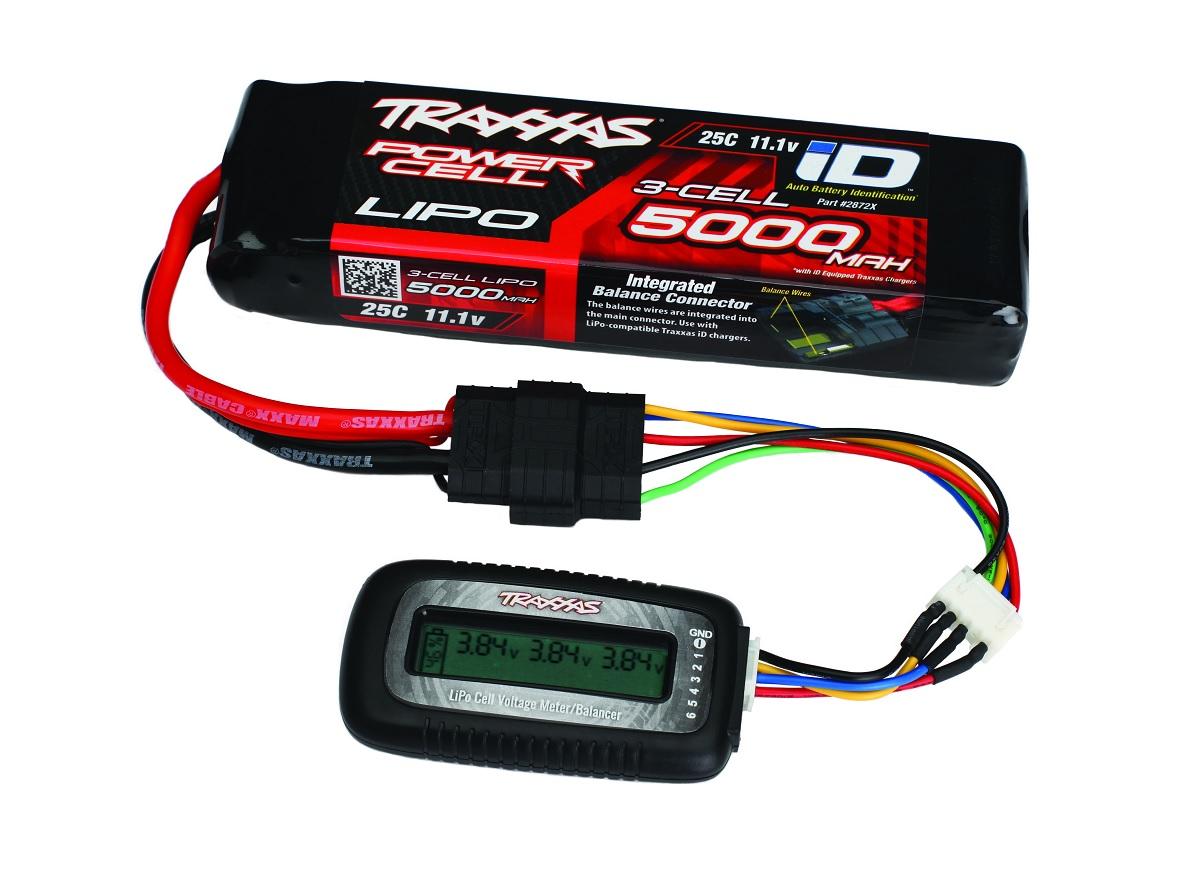 Traxxas LiPo Cell Voltage Checker/Balancer 2968X
