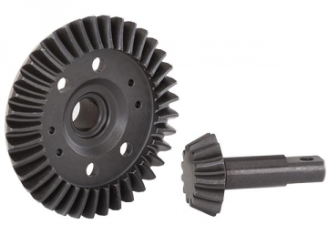 Traxxas Ring gear differential/pinion gear differential machined spiral cut front