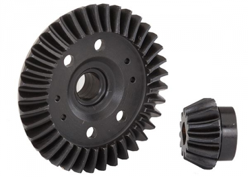 Traxxas Ring gear differential/pinion gear differential machined spiral cut rear