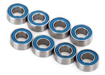 Traxxas Ball bearings blue rubber sealed (4x8x3mm) 8 stk 7019R