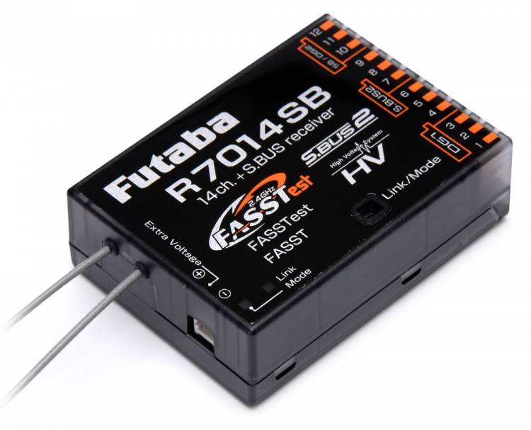 Futaba Mottaker R7014SB 14K HV S.BUS2 FASSTest & FASST