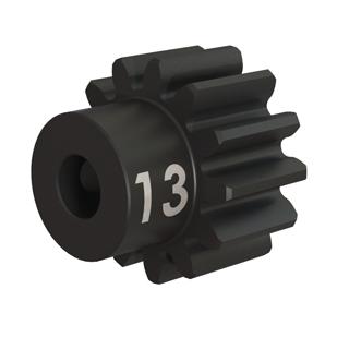 Traxxas Gear 13-T pinion (32-p) heavy duty (machined hardened steel)/ set screw 3943X