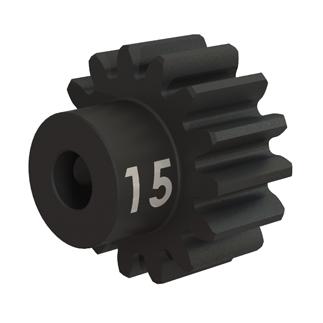 Traxxas Gear 15-T pinion (32-p) heavy duty (machined hardened steel)/ set screw 3945X