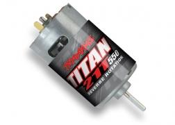 Traxxas Motor Titan® 550 reverse rotation (21-turns/ 14 volts)