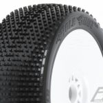 Pro-Line Hole Shot 2.0 S3 (Soft) Off-Road 1/8 Buggy Tires Mounted on Velocity White Wheels 2 pk