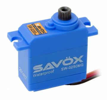 SAVOX W-0250MG Servo 5Kg 0.11s Metalldrev WP Mini