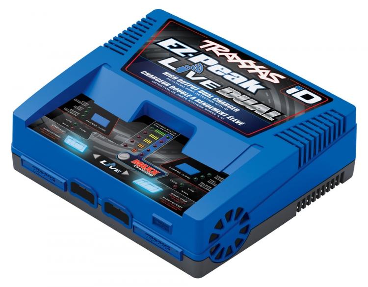 Traxxas EZ-Peak Live Dual 26A NiMH/LiPo Lader Auto iD